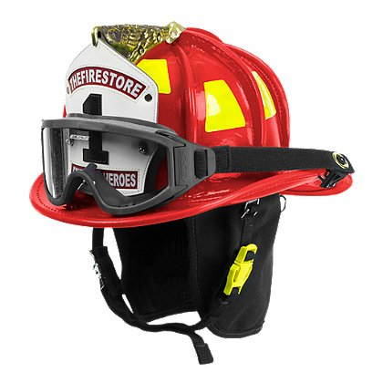Cairns N6A Houston Red Leather Helmet