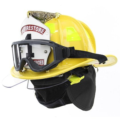 Cairns N6A Houston Yellow Leather Helmet