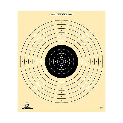 National Target Official NRA Competition 25-50 Meter International Pistol