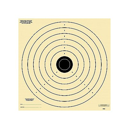 National Target Non-NRA Pistol Practice Targets, Army