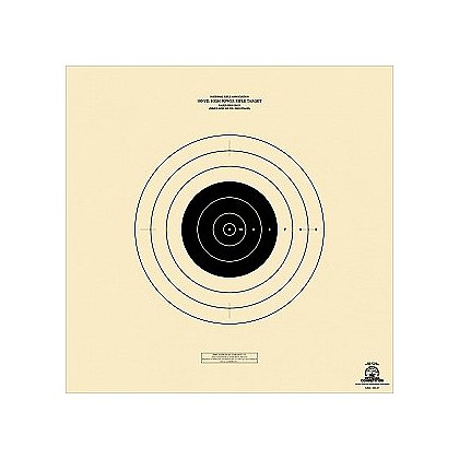 National Target: High Power Rifle Target, 100 yard, Rapid Fire, 6 1/4