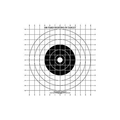National Target: 100 yard Rifle Sighting Target