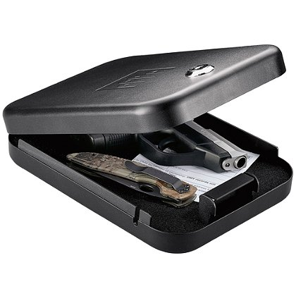 GunVault Small Portable NanoVault Firearm Safe