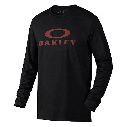 Oakley Bark Repeat Long Sleeve Tee