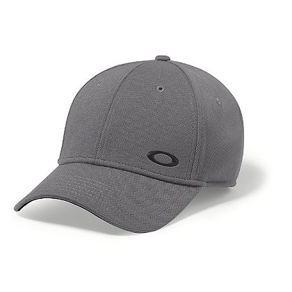 Oakley Silicon Ellipse Cap, Grigio Scuro