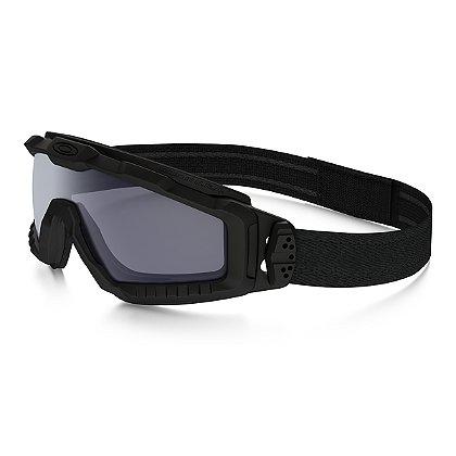 Oakley SI Ballistic Halo Goggles, Matte Black w/ Grey Lens