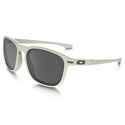 Oakley:  Enduro Matte White w/Black Iridium Polarized Lenses