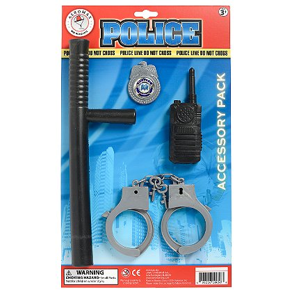 AeroMax Jr. Police Uniform Costume Accessories