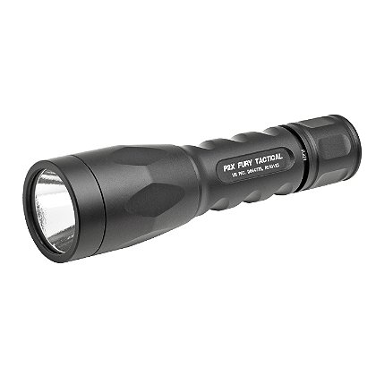 SureFire: P2X Fury Tactical LED Flashlight, 2 SF123A Batteries, 500 Lumens, 5.4