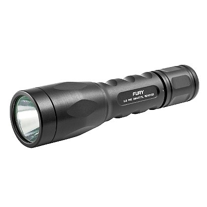 "SureFire: P2X Fury Dual Output LED Flashlight, 2 SF123A Batteries, 500 Lumens, 5.4"" Long"