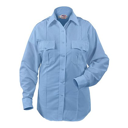 ELBECO Paragon Plus Women's Premium Poplin L/S Dress Uniform Shirt