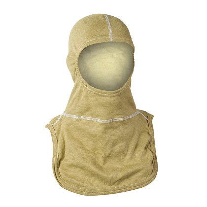 Majestic PAC II Protective Hood, with PBI Gold/Kevlar Outer and Natural P84 Inner