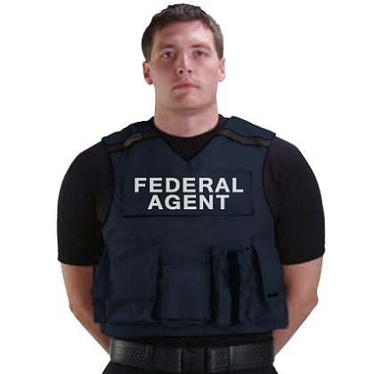Point Blank R20-D Federal Agent Accessory Carrier