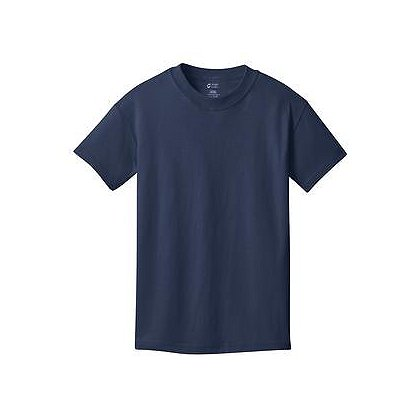 SanMar Precious Cargo Short Sleeve Cotton Youth T-Shirt, Navy
