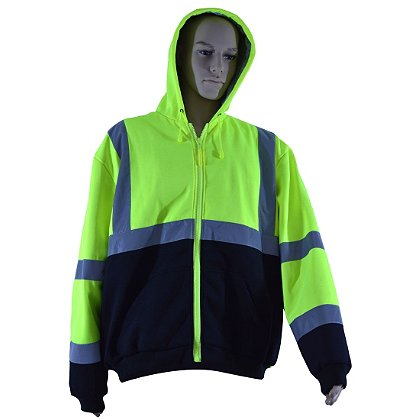 Petra Roc Hi-Viz Thermal Hooded Sweatshirt