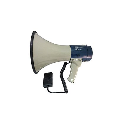 MG Electronics: PGM-25MIC 25 Watt Piezo Dynamic Power Megaphone with Built-In Siren and Hand Held Microphone