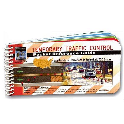 Dicke Tools Temporary Traffic Control Pocket Reference Guide