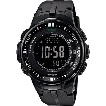 Casio Solar Atomic Triple Sensor Watch