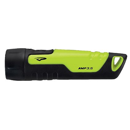 Princeton Tec AMP 3.5 LED Flashlight, 4 AAA Batteries, 100 Lumens, 5.5