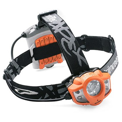 Princeton Tec Apex LED Headlamp, 350 Lumens, 4AA Batteries