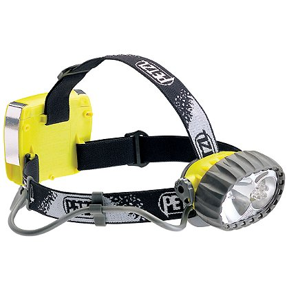Petzl: Duo® LED 5 Hybrid Waterproof Headlamp: Halogen/5 LEDs