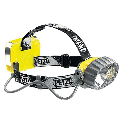 Petzl Duo� LED 14 Hybrid Waterproof Headlamp Halogen/14 LEDs with three constant lighting modes