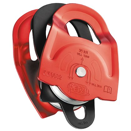 Petzl Twin Prusik Minding Pulley, NFPA