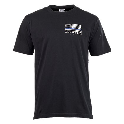 Exclusive Back the Blue Short Sleeve T-Shirt