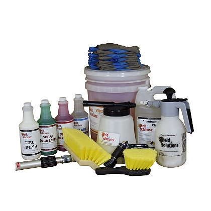 Shield Solutions Premium Vehicle & Diamond Plate Cleaning & Detailing Kit