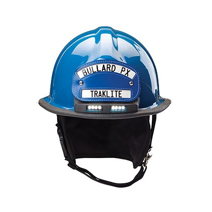 Bullard Firedome PXTL with TrakLite Integrated Helmet Light, NFPA 1971