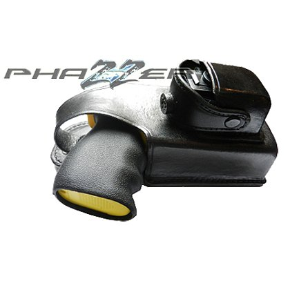 PhaZZer: Enforcer® Leather Holster with Cartridge Pouch