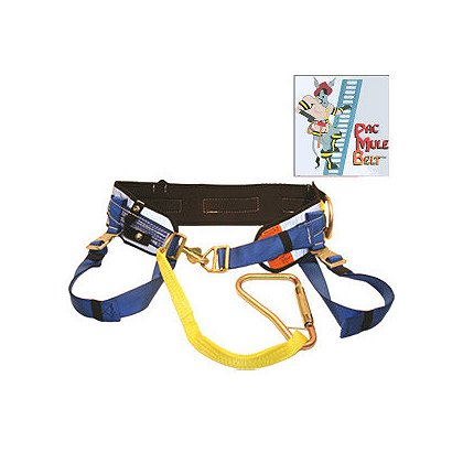 PacMule Ultra Quick Release Ladder Belt & Harness with Tool Loops