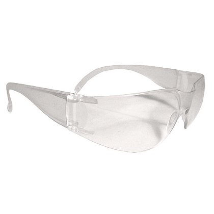 Radians Mirage Safety Glasses, Clear, ANSI Z87.1+