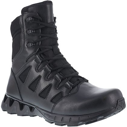 "Reebok ZigKick Tactical 8"" Side-Zip Men's Boots"