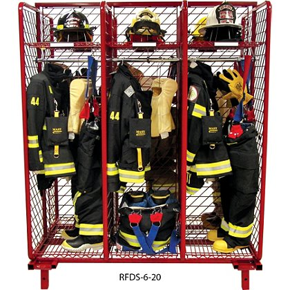 Groves Freestanding Red Rack, Double Sided