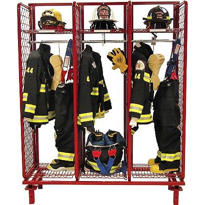 Groves: Freestanding Red Rack, Single Sided