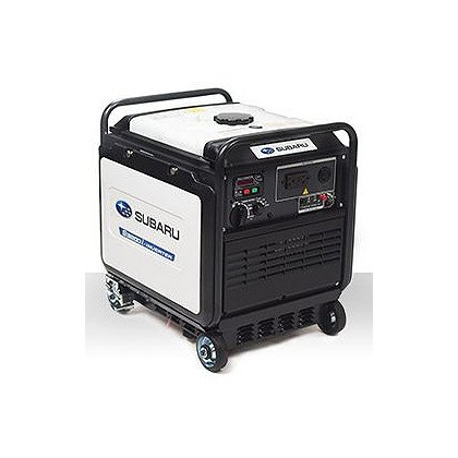 Subaru RG3200 Silent Inverter Generator, Electric Start w/ Recoil Backup, 120V, 12V DC Charger, 6.5 Hr. Run Time