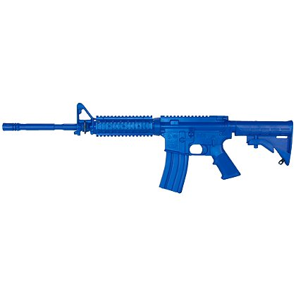 Ring's Long Gun M4 Flat Top Closed Stock, Fwd Rail Bluegun