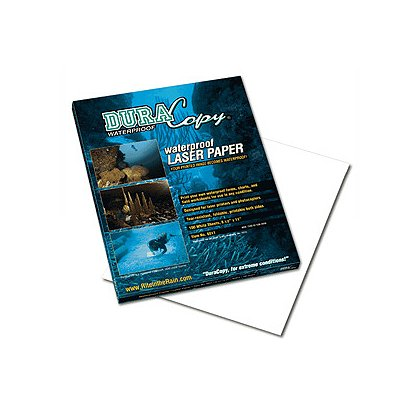 Rite in the Rain: DuraCopy Waterproof Copier/Laser Paper, 8-1/2 x 11