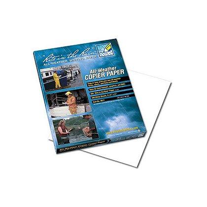 "Rite in the Rain: All-Weather Waterproof Copier Paper, 8- 1/2 x 11"""