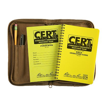 Rite in the Rain CERT Kit--CERT FOG & Forms Book Kit