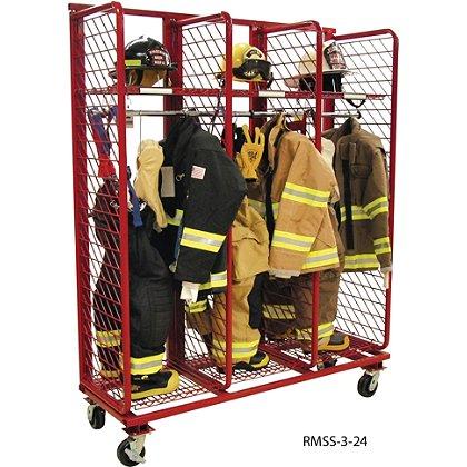 Groves: Mobile Red Rack, Single Sided