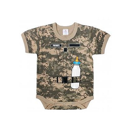 Rothco: A.C.U. Digital Camo Soldier Infant One-Piece BodySuit