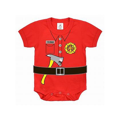 Rothco Infant Fireman One Piece Bodysuit