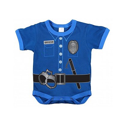 Rothco Infant Police Uniform One-Piece BodySuit