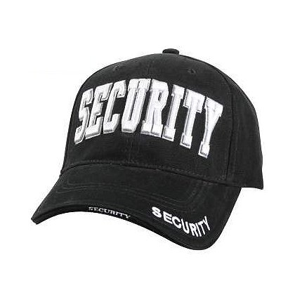 Rothco: Deluxe Embroidered SECURITY Low Profile Baseball Cap