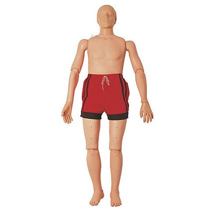 Simulaids Adult and Adolescent CPR Water Rescue Manikins