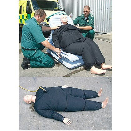 Simulaids: Bariatric Rescue Suit