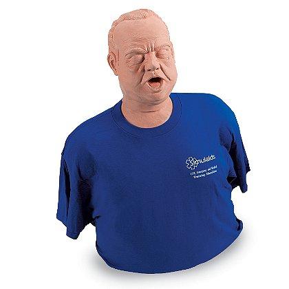Simulaids Obese Adult Choker Manikin