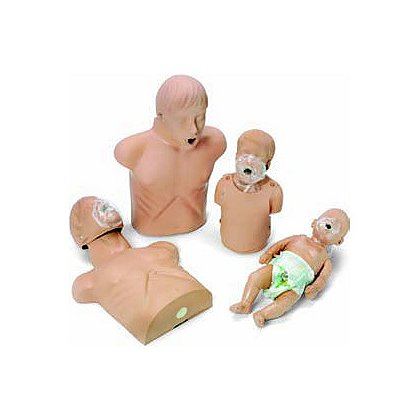 Simulaids 2157 Sani CPR Family Pack